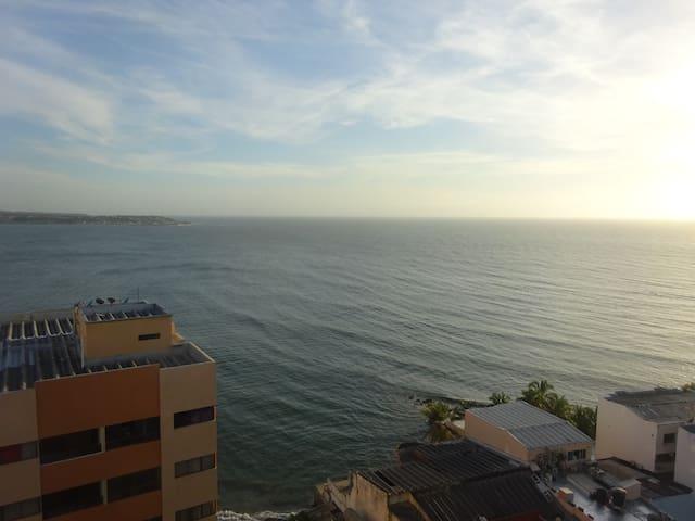 Beautiful Ocean View Apartment ( Vista al mar) - Cartagena - Appartement