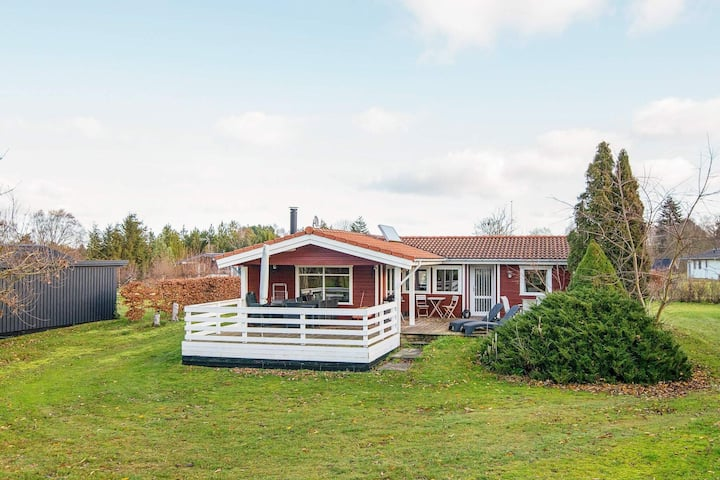Beautiful Holiday Home in Glesborg with Terrace
