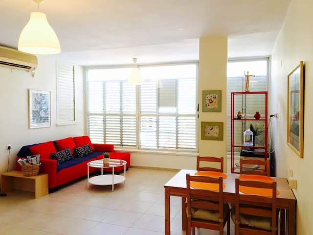 Central 2BR, Lighted & Spacious in Raanana - Ra'anana - Lakás