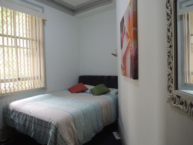 Private room in terrace house near city centre F
