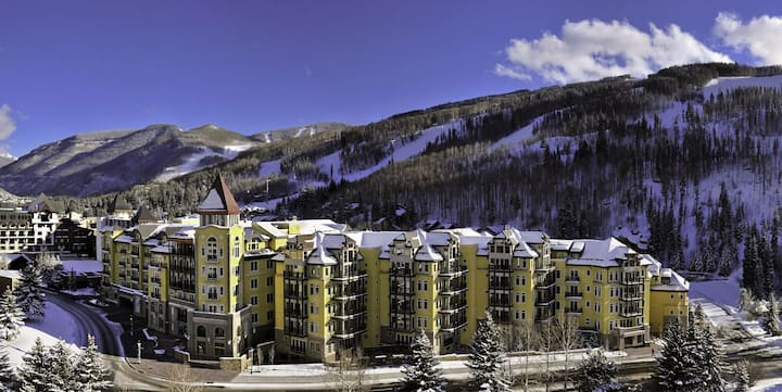 "Ritz Carlton Residences 3 Bedroom 4 Bath in Vail ""Ski in Ski out"""