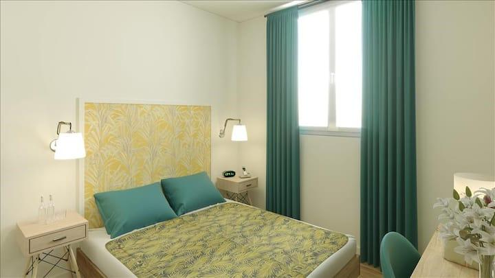 Appartement FAMILIAL: Ensemble chacun sa chambre !