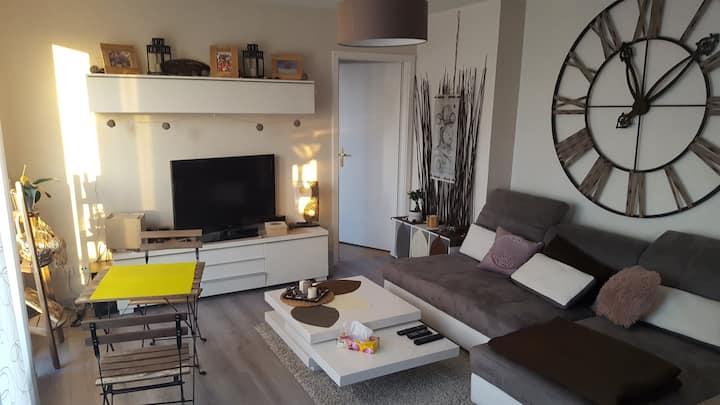 Cosy'Home, appartement avec grande terrasse