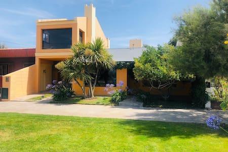 Casa frente al mar con buena vista en Playa Union