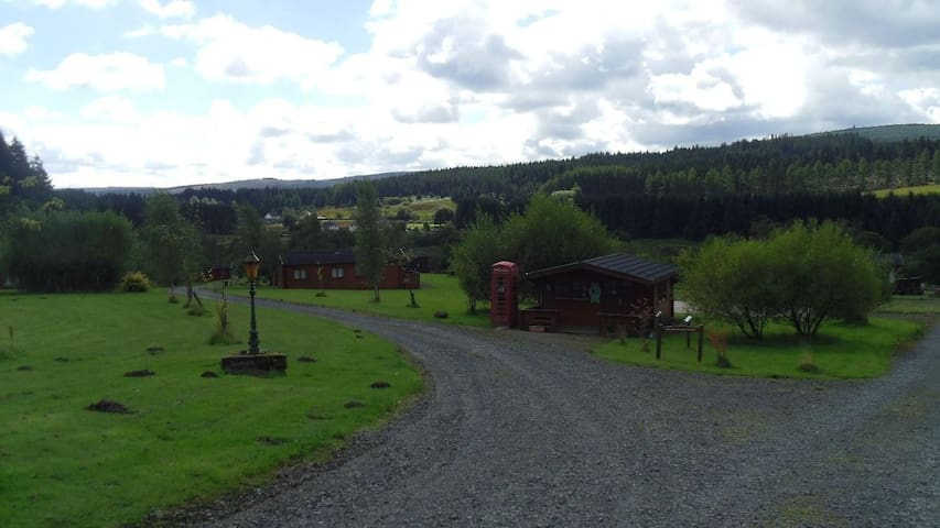 Cosy Kielder lodge -lots to do,amazing night skies - Kielder - Houten huisje