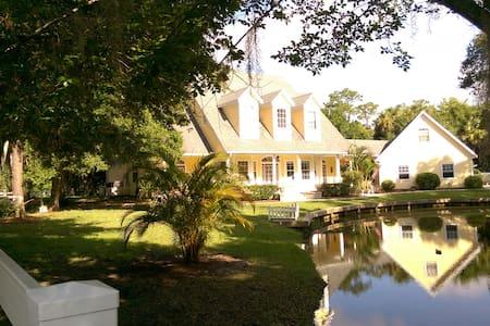 East Coast Florida Tropical Cottage - Merritt Island - เกสต์เฮาส์