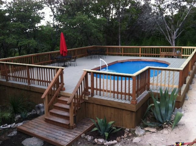 POOL!! yahoo! shared with 1 other home on 4.5 acres