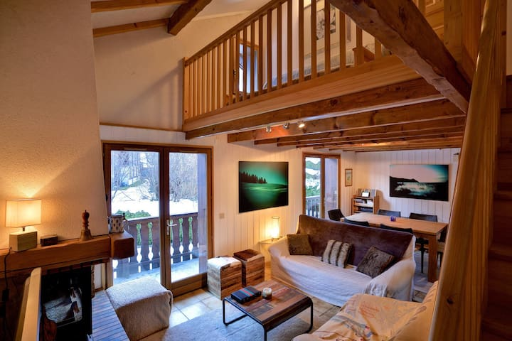 Chalet Ads - 3 dbl bedrooms - Les Houches - Chalet