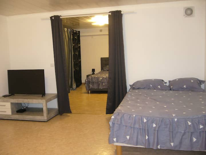 Appartement dans maison à Corbelin proche Walibi