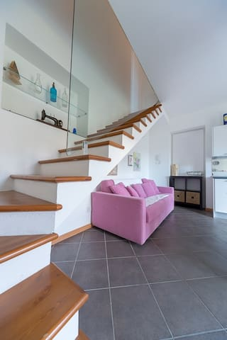 CASA AMARILLA  appartamento AZALEA con VISTA LAGO