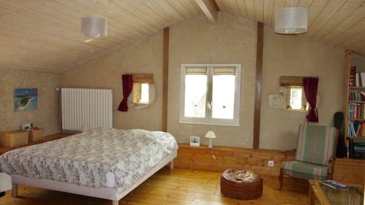 La Cailletière, appartement cosy et spacieux.