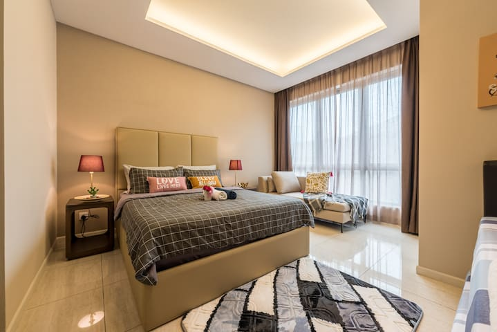 ❤️Spacious Modern 5⭐️ Near KLCITY Pool FOC Parking