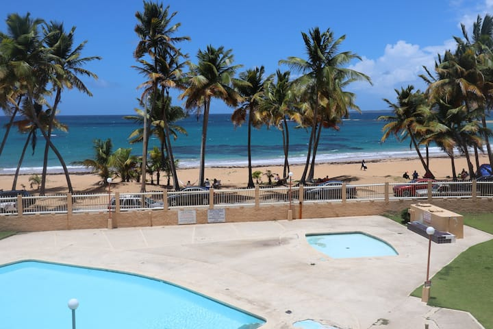 Beachfront Apartment in Luquillo, PR