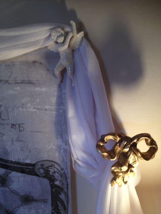 Détail décoration chambre