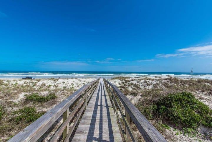 Saint Augustine Beach in Paradise