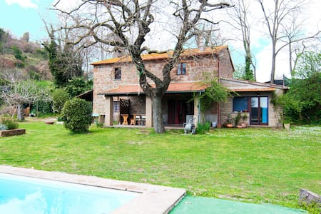 Lovely Country House with pool in Tuscia - 维泰博 - 独立屋
