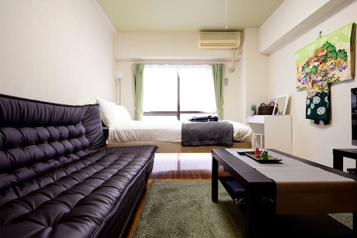 Superb Shinagawa Studio 305, Convenient to HANEDA - Shinagawa-ku - Appartement