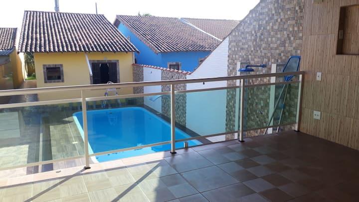 Casa de praia em Maricá com piscina, churrasqueira