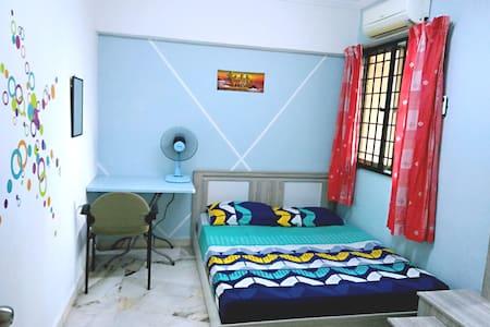 Room Daisy (Sanitized/ CCTV guarded)
