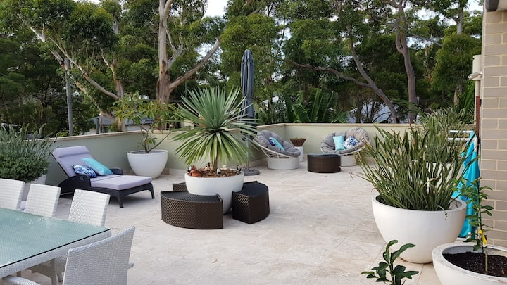 Macmasters Beach peaceful luxury apartment.