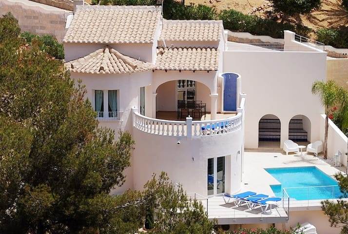 Holiday Home CasaVerde | 2 Apartments | Seaview - Benitachell - House