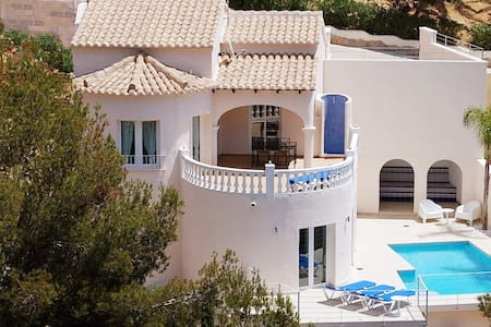 Holiday Home CasaVerde | 2 Apartments | Seaview - Benitachell - Talo