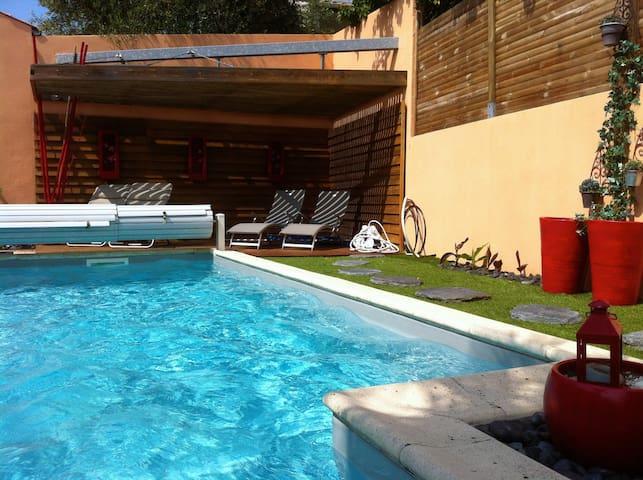 Villa 4* La Rochelle Piscine chauffée Plage 500m