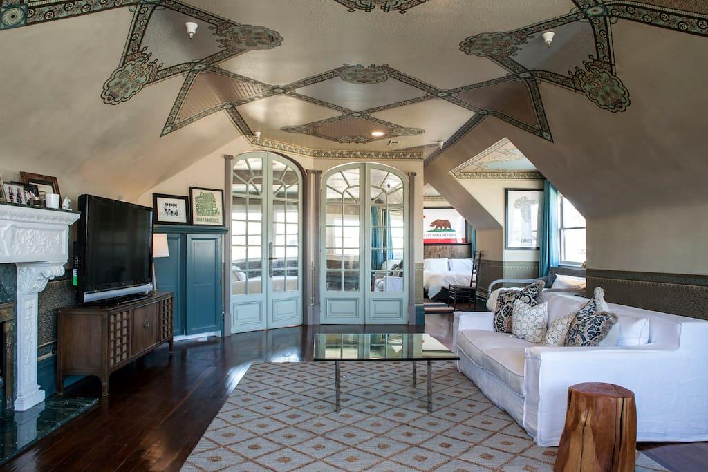Gorgeous victorian master suite appartements louer san francisco calif - Appartement a louer san francisco ...
