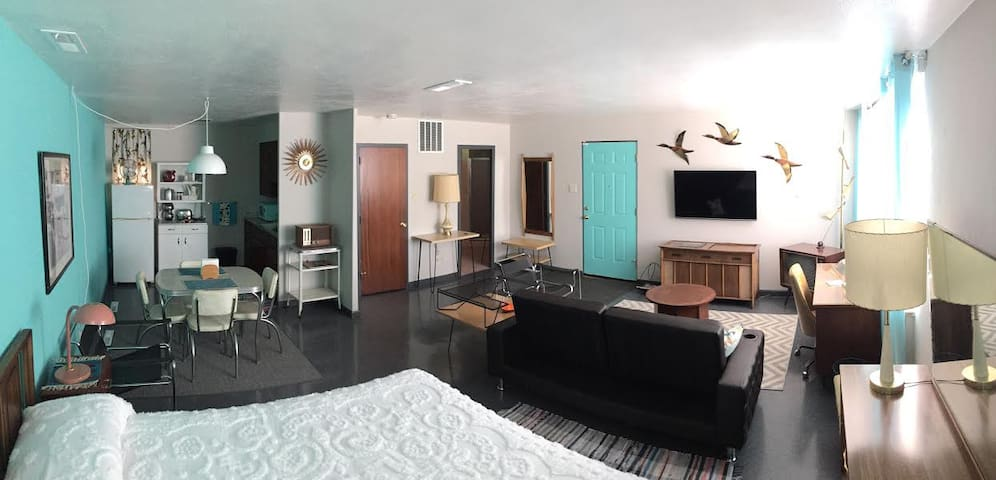 Return to the 50's! Spend the night at the MidCentury Mordern Museum