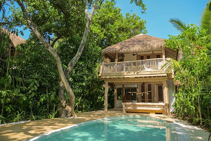 Two Bedroom Beach Villa Suite with Private Pool