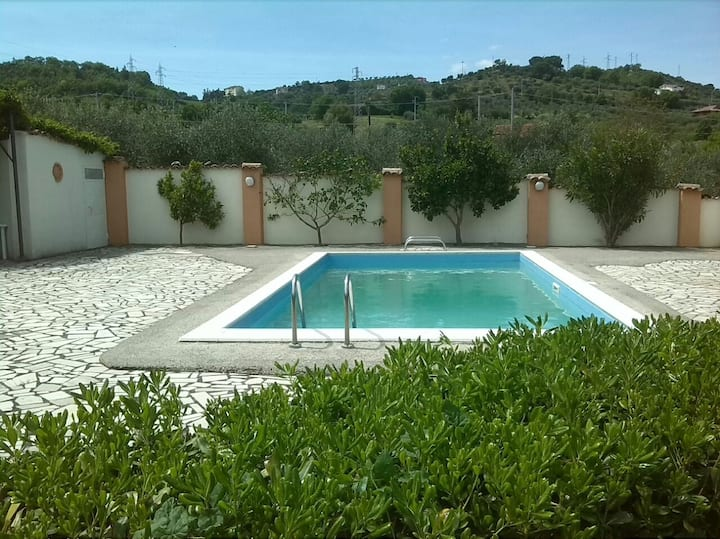 Masseria Missosero,privé woning met zwembad