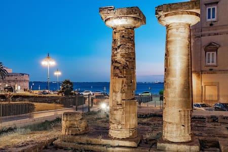 App.to colonne doriche vista mare centro storico