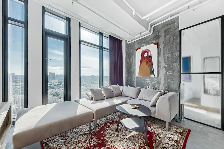Flat Inn | Moscow City IQ Tower |Panoramic View
