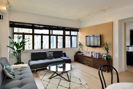 Rare find in SOHO - modern and quiet 700 sq feet - Hongkong - Wohnung
