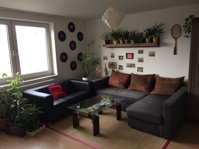 Helle und ruhige Wohnung in Linden - Hannover - Loft