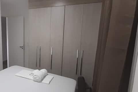 Quarto Individual cama casal Aeroporto de GRU