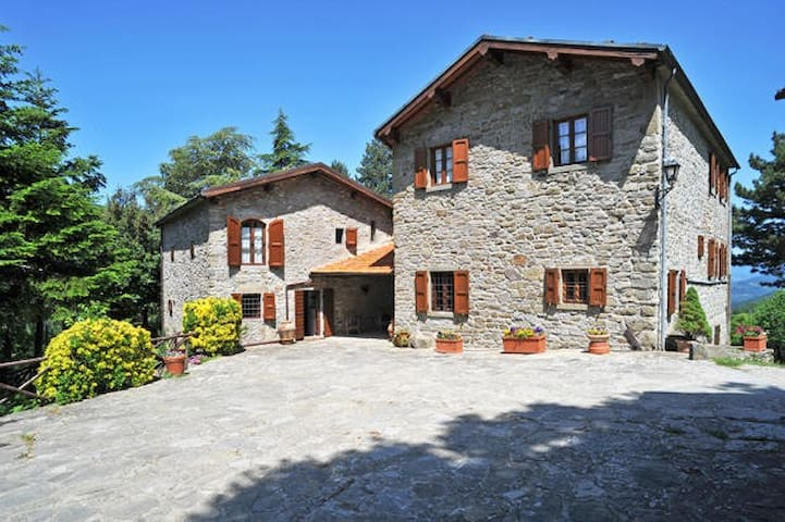 Luxury Watermill Villa near Florence - Londa - Villa