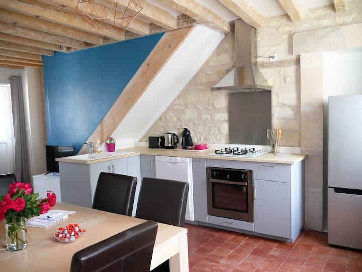 Nouveau Gîte Casa Maya Saint-Aignan proche Beauval