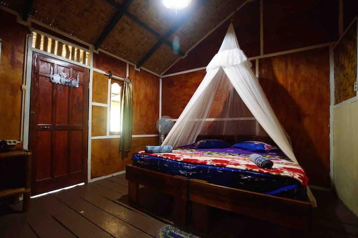Orangutan and jungleview room - Bukit Lawang