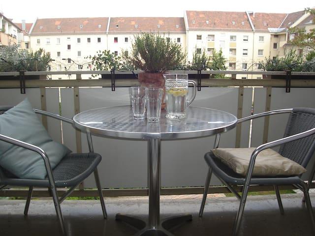 Wohnen mit Charme in Stadtparknähe - Nürnberg - Apartment