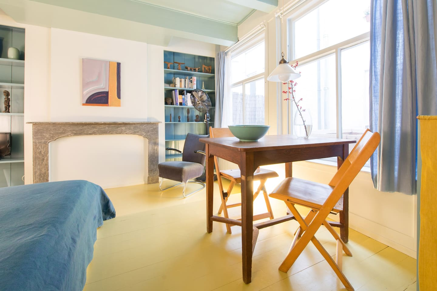 """B&B In de Lelie is a cosy and quiet studio in the back of historic canal house """"In de Lelie"""""""