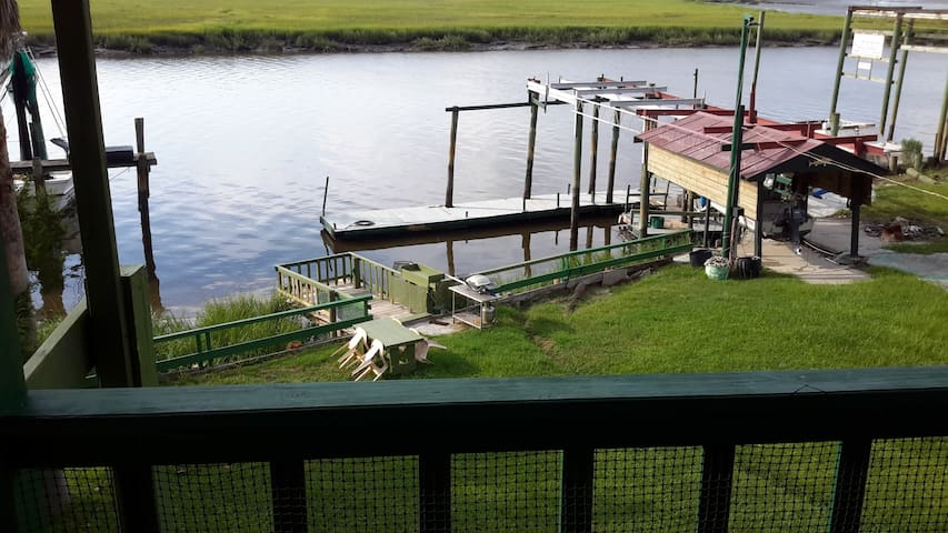 Pelican Point River House #2 on the Sapelo River