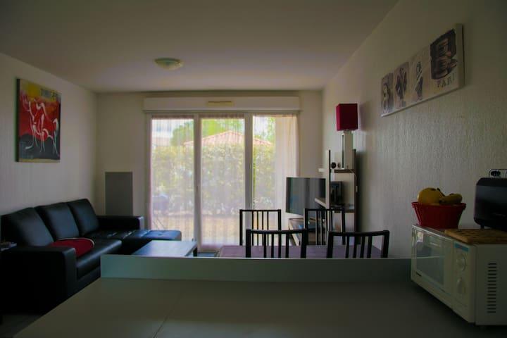 Appartement à Cazaux dans résidence