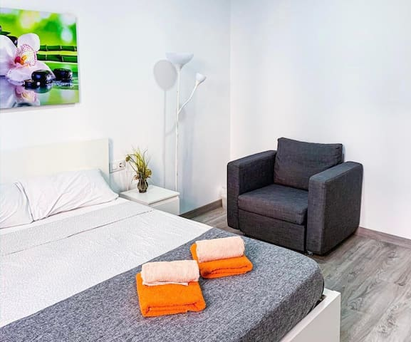 Perfecta habitacion privada en centro.