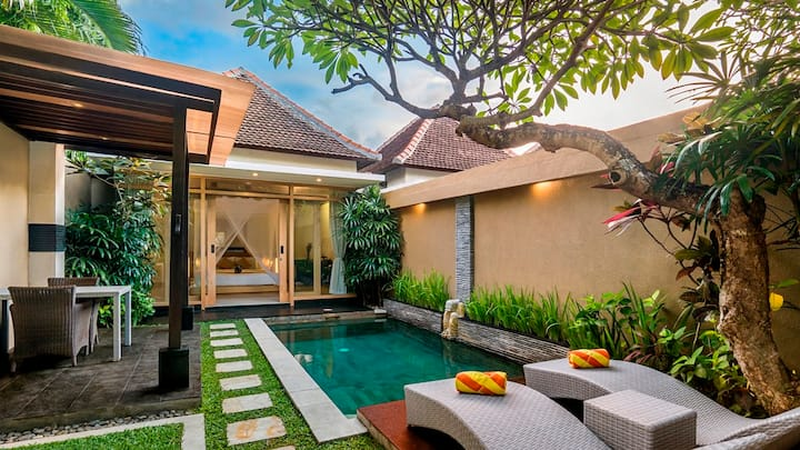 Monthly Stay 1 Bedroom Pool Villa in Seminyak