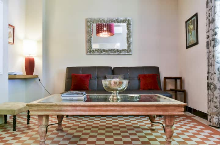Acciarica. Apartment with garden view. 43m2