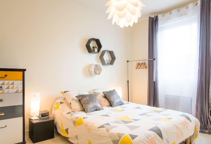 Chambre agréable avec sa SDB privée - La Roche-sur-Yon - Casa