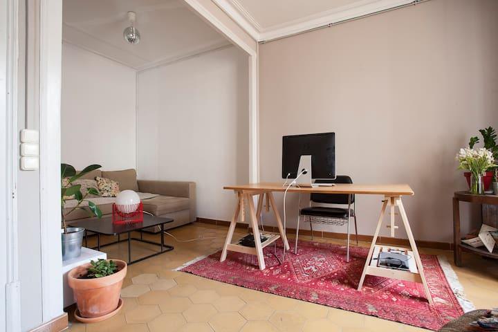 Big & nice flat center Barcelona - Barcelona - Apartment