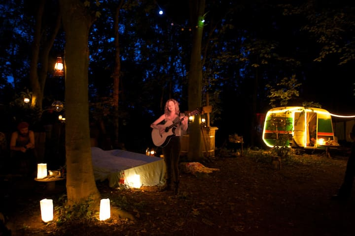 Fire, forest bed & great breakfast - Groningen