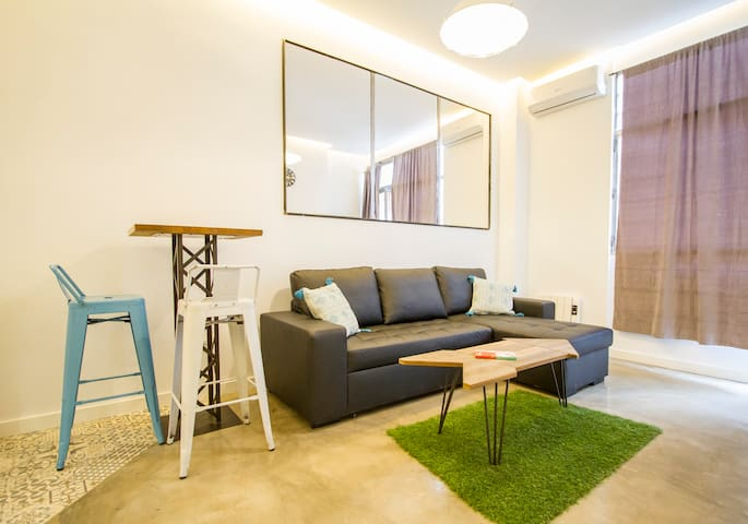 NEW AND MODERN APARTMENT: 2 BEDROOMS | A/C